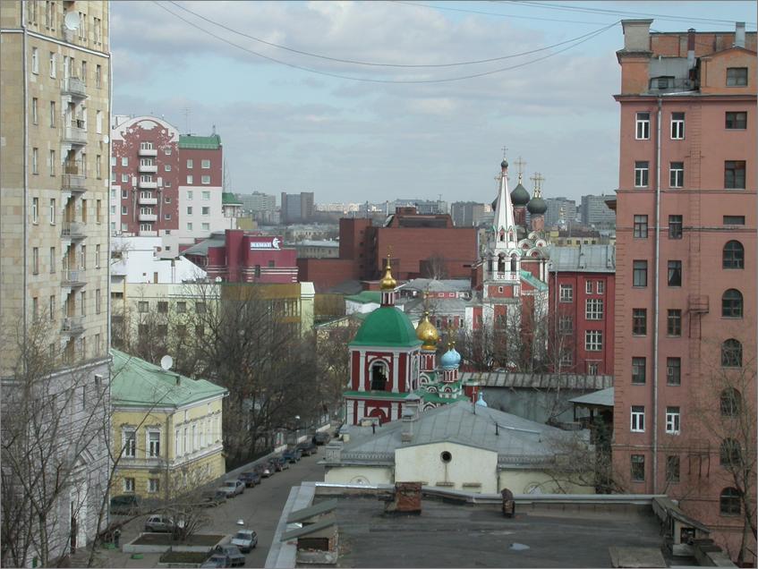 Картинки улиц москвы из окна